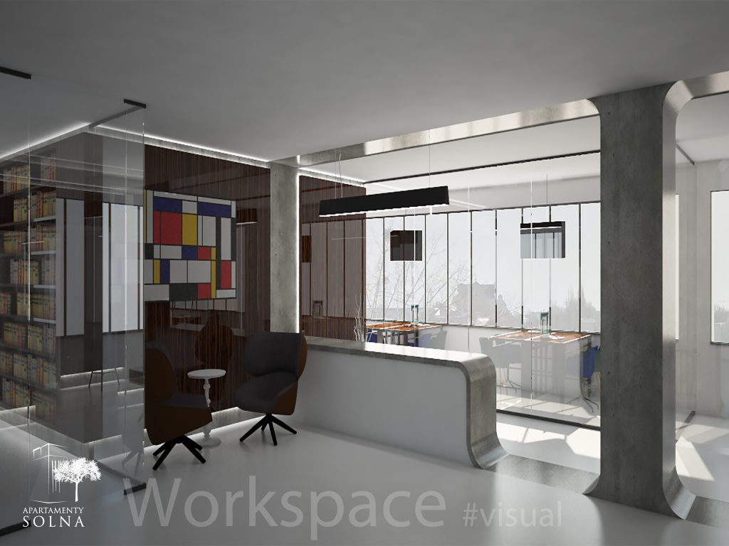 Open workspace - Apartamenty Solna - Moryson Development